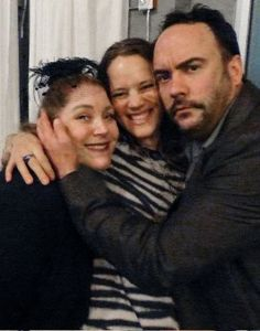 March 2013 event with Dave Matthews and his lovely wife - with DJ LESLIE