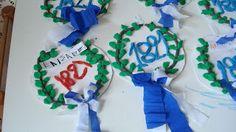 2o ΝΗΠ/ΓΕΙΟ ΚΑΣΤΟΡΙΑΣ: 25 Μαρτίου Hanukkah, Wreaths, Children, Crafts, Greek, March, School, Home Decor, Young Children