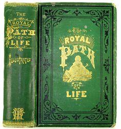 1878 Antique Victorian Etiquette Book
