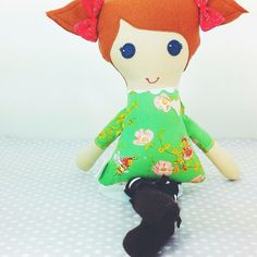 Custom Cloth doll 'Bless Her Heart Doll' by makemineblue on Etsy $38.00