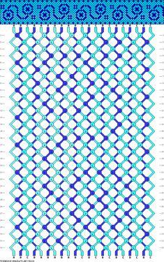 21 strings, 3 colors, 32 rows