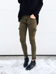 Image result for cargo pants outfit