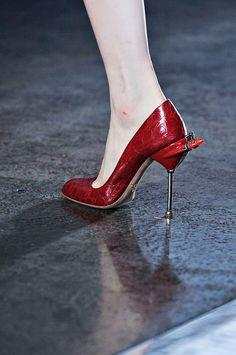 Milan Spring Summer 2012 Catwalk Shoes: Prada