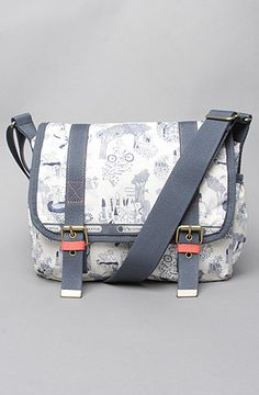 $88 @lesportsac The Kate Sutton x LeSportsac Two Pocket Messenger Bag in Garden Pals  at karmaloop.com - Use repcode SMARTCANUCKS for a 20% discount at the checkout! http://lovekarmaloop.com