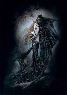 Vampire (from Evolution Dreams III by Luis Royo)