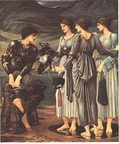 Perseus and the Sea Nymph Sir Edward Coley Burne-Jones, Bt ARA (1833-1898) Oil on canvas Staatsgallerie Stuttgart