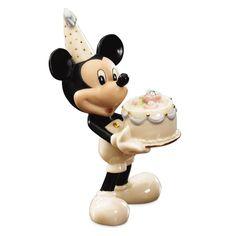Lenox Disney Mickey April Birthstone Figurine