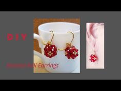 Beaded Earrings, Beaded Jewelry, Handmade Jewelry, Beading, Swarovski, The Creator, Youtube, Jewelry Bracelets, Stud Earrings