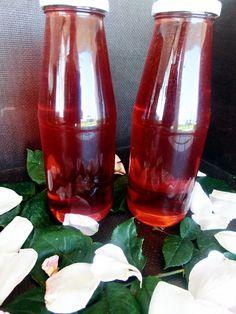 Sirop natural de trandafiri, fara conservanti