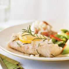 Rosemary-infused cod in less than 10 minutes