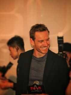 Michael Fassbender attends Assassin's Creed Beijing premiere on February 20, 2017