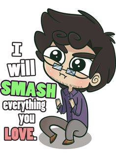Smash Everything You Love by ecokitty.deviantart.com on @deviantART