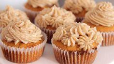 Lebkuchen Cupcakes mit Maronenfrosting