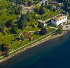 VILLA MELZI D'ERIL, Bellagio (Como). Uno dei 10 Parchi Più Belli d'Italia nel 2012!