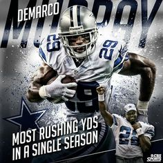 DeMarco Murray 29 ★Dallas Cowboys☆