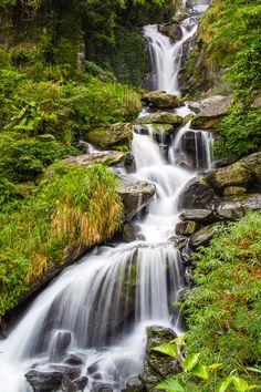 """Wulai, Taiwan  """"Wulai Falls"""" by Bobby Yang, via 500px."""
