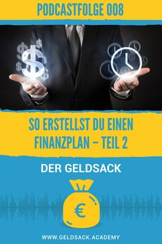 Finanzielle Sicherheit - Wie du einen Finanzplan erstellst. Teil 2 Budget, Planer, Movie Posters, Blog, Financial Peace, Tips For Saving Money, Earn More Money, Money Plant, Finance