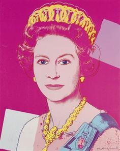 Andy Warhol: H. M. Queen Elizabeth II.