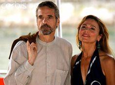 Jeremy Irons and Lena Olin 2005 Venice
