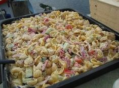 Den bästa pastasalladen ever? Swedish Recipes, Cooking Recipes, Healthy Recipes, English Food, I Love Food, Pasta Dishes, Soul Food, Summer Recipes, Food Hacks
