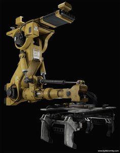 ArtStation - Star Citizen - Robotic Arm, Kyle Bromley