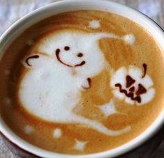 halloween coffee - Buscar con Google