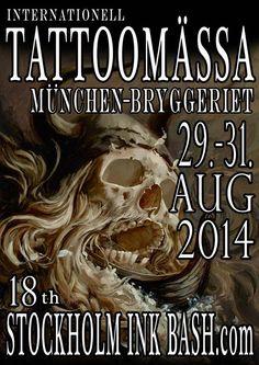 Tattoo & Ink: Stockholm Ink Bash 2014