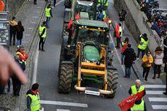 cosasdeantonio: Manifestación de Tractores en Pamplona (2)