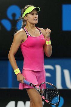 Eugenie Bouchard cruises into the third round of the Australian Open