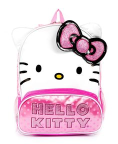 So cute! FAB Hello Kitty Bow Backpack - Kids Girls 2-6X - Macy's $24.98 #MacysBTS