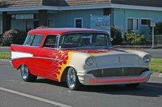 Luv this.57 Chevy Nomad.