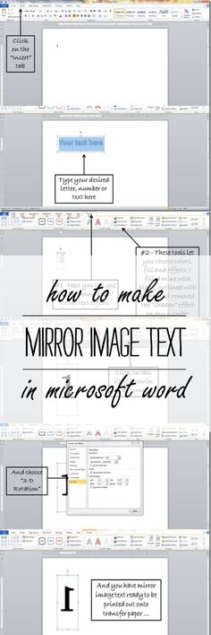how to make mirror i