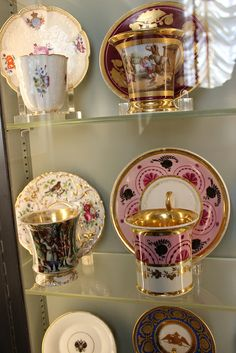 The Romanovs Porcelain Tableware kept in Hillwood Museum, Washington