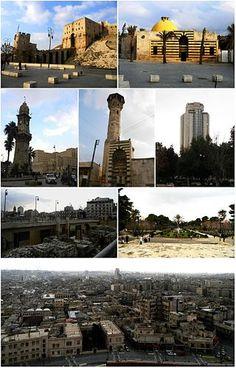 Alepo  é uma cidade no norte da Síria, a segunda maior cidade do país