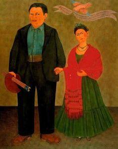 Self-Portrait com recortada Cabelo por Frida Kahlo (1907-1954, Mexico)