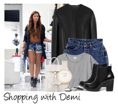 """""""Shopping with Demi"""" by directioner-123 ❤ liked on Polyvore featuring Mulberry, Monki, MANGO, Steve Madden, Olivia Burton and Iosselliani"""