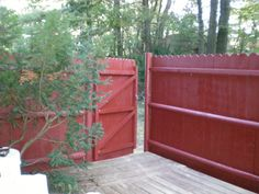 painted fence - Google Search