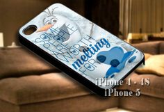 Disney Frozen Olaf Funny Quote for iPhone case-iPhone 4/4s/5/5s/5c case cover-Samsung Galaxy S3/S4/ case cover