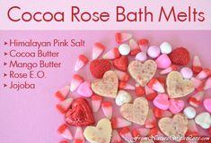Cocoa Rose Bath Melts recipe
