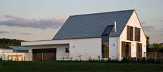 Nordansicht - Umbau + energetische Sanierung eines Wohn- und Betriebsgebäudes