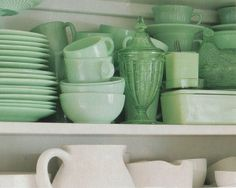 jadeite and ironstone
