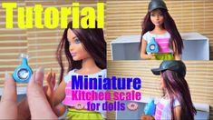 Tutoriel : balance alimentaire rétro miniature pour nos dolls 🍫🥛🥥 Miniature Kitchen, Balance, Doll Tutorial, Lps, Pet Shop, Dollhouse Miniatures, Creations, Barbie, Youtube