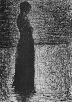 The Departure: From Jenny's Choice coming February Georges Seurat, The Woman In Black, Words On Canvas, Pierre Bonnard, Drawing Projects, Pointillism, French Artists, Life Drawing, Figure Painting