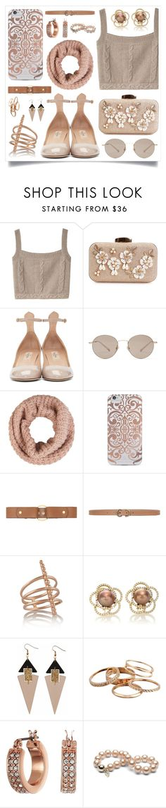 """Babe"" by racanoki ❤ liked on Polyvore featuring Opening Ceremony, Valentino, Gucci, Accessorize, Nanette Lepore, Marni, Max Studio, Arme De L'Amour, Toolally and Kendra Scott"