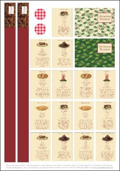 Projects - Recipes - Scrumptious Christmas Recipes - Project - Mulled Wine card - Printable Heaven