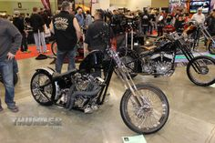 Custom by Luke Nerison of St. Louis Park, MN at the 2014 Donnie Smith Bike & Car Show.