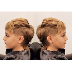 "33 Likes, 1 Comments - Sisu Hairdressing (@sisulincoln) on Instagram: ""Mohawk Mullet for this cool guy! #mohawk #mullet #lnk #cool #mohawkmullet #kidscut #boysfashion…"""