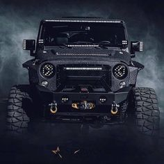 The custom Jeep conversions at our Dallas shop are built for off-road performance and unlike anything else on the road. Jeep Jk, Jeep Truck, Jeep Wrangler Rubicon, Jeep Wranglers, Badass Jeep, Jeep Mods, Black Jeep, Custom Jeep, Cool Jeeps