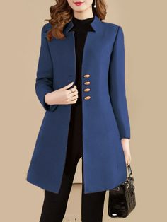 dress and coat outfit Blazers For Women, Suits For Women, Jackets For Women, Clothes For Women, Office Outfits Women, Casual Outfits, Suit Fashion, Fashion Outfits, Fashion Coat