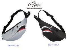 MORN CREATIONS/モーンクリエイションズのシャークウェストポーチ